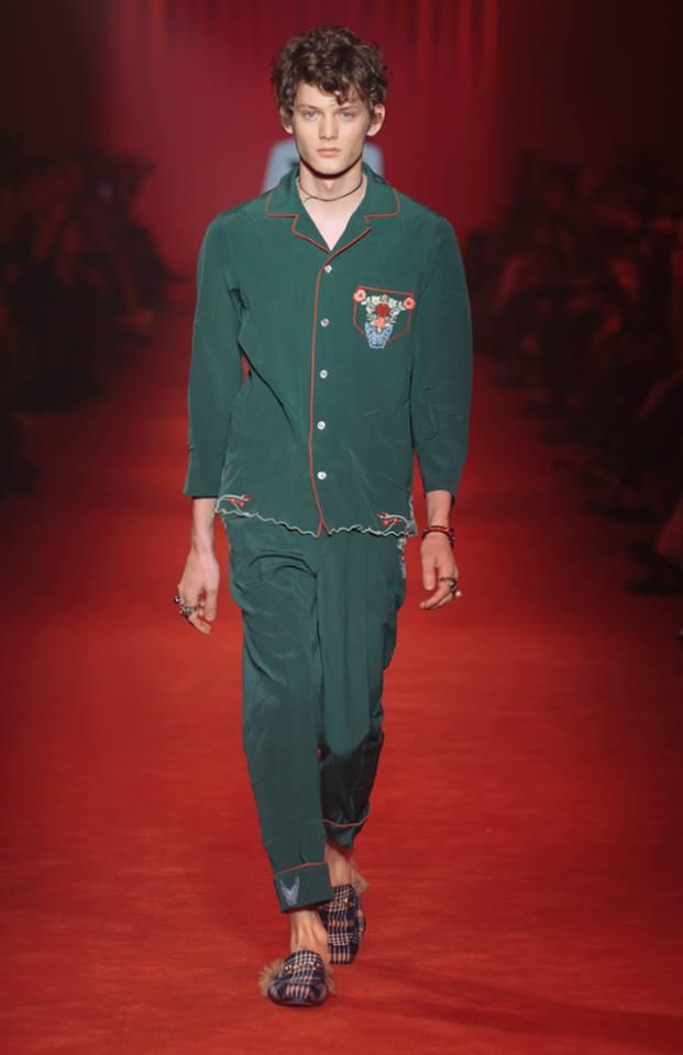 Мъжка мода: Колекция Есен-Зима 2016/2017 на Gucci