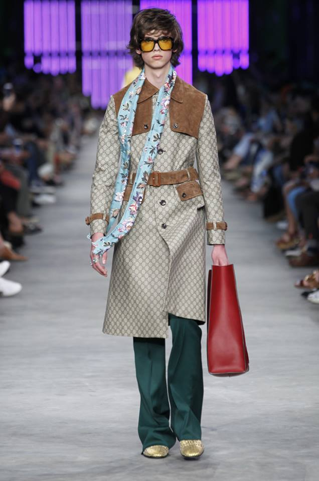 Gucci Spring-Summer 2016 men's collection