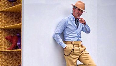 Guillaume Bo - One of the most photographed men at Pitti Uomo