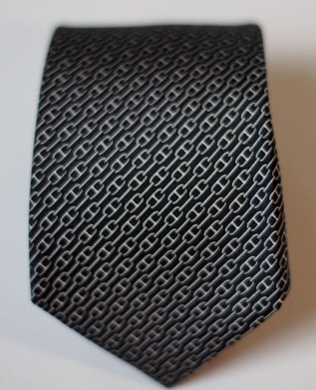 Men's suit accessories: Hermes necktie