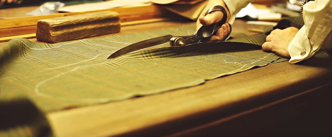 Holland & Sherry - the tailoring world of Savile Row