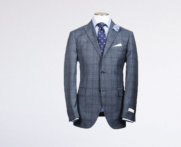Canadian bespoke suits by Huey Lam