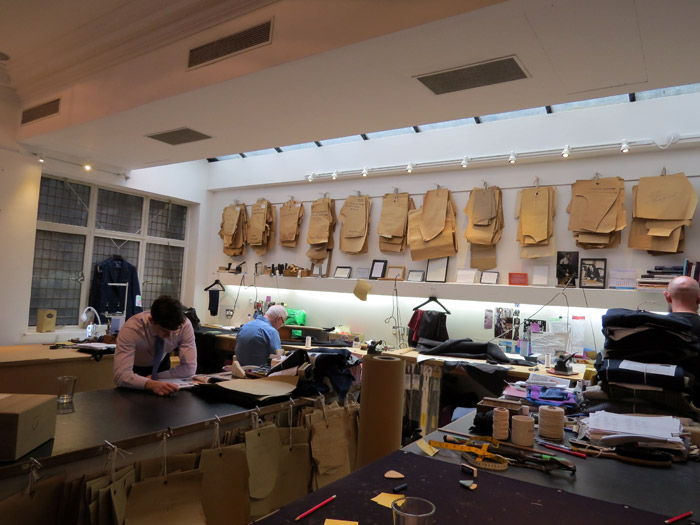 How to order a Savile Row suit. Interview with Brian Lishak from Richard Anderson