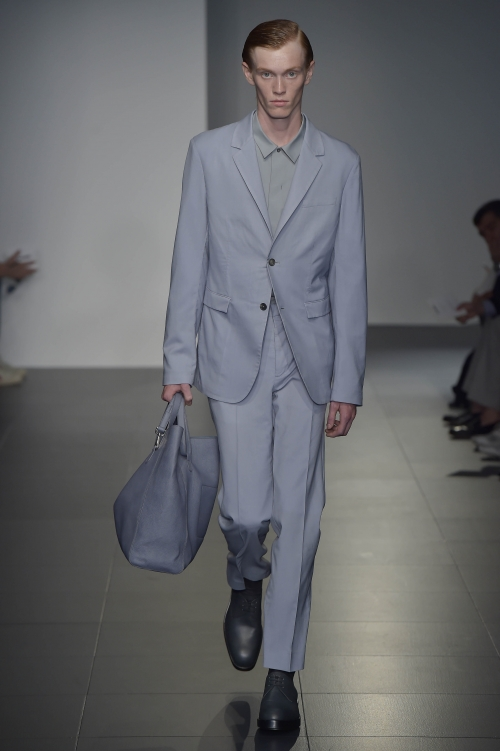 Jil Sander Spring/Summer 2017 - the ombre suit