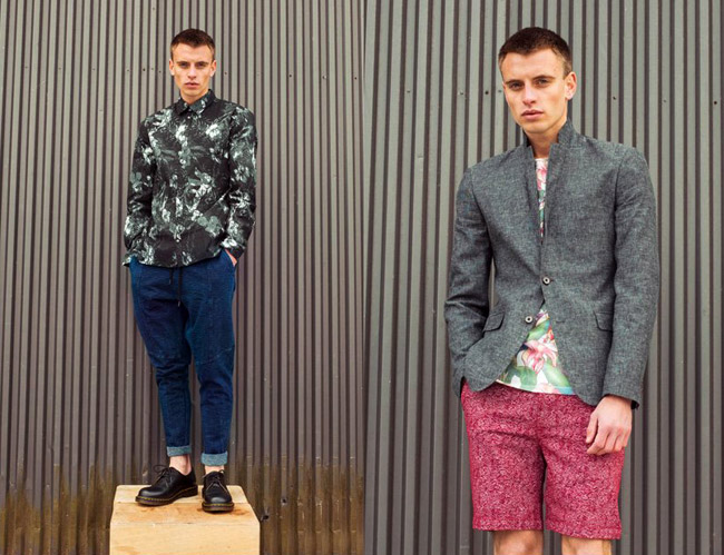 Menswear show Jacket required London presents Spring-Summer 2017 collections
