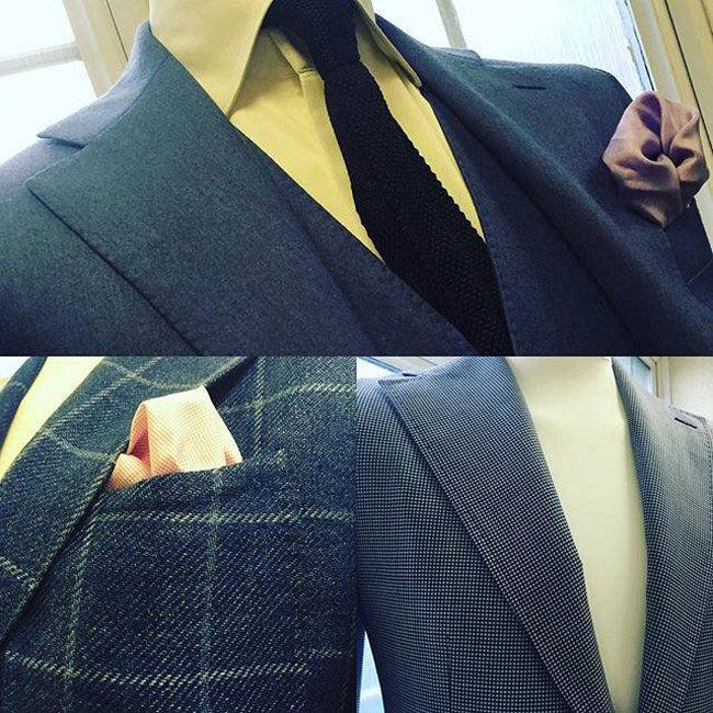 Tailored suits by James Palombo Bespoke