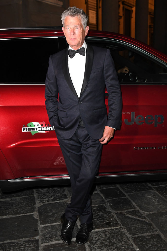 Jeep Brand with the stars of the Celebrity Fight Night