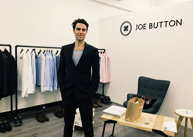 Australian tailored suits by Joe Button