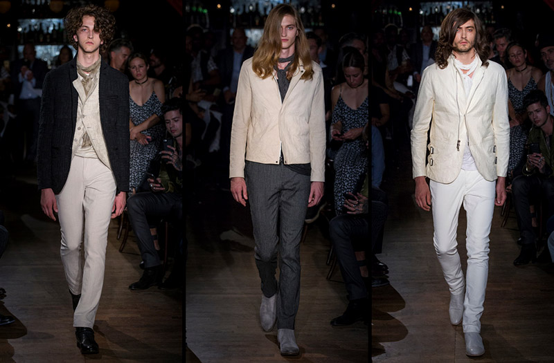 The Urban Romantic - John Varvatos Spring-Summer 2017 collection