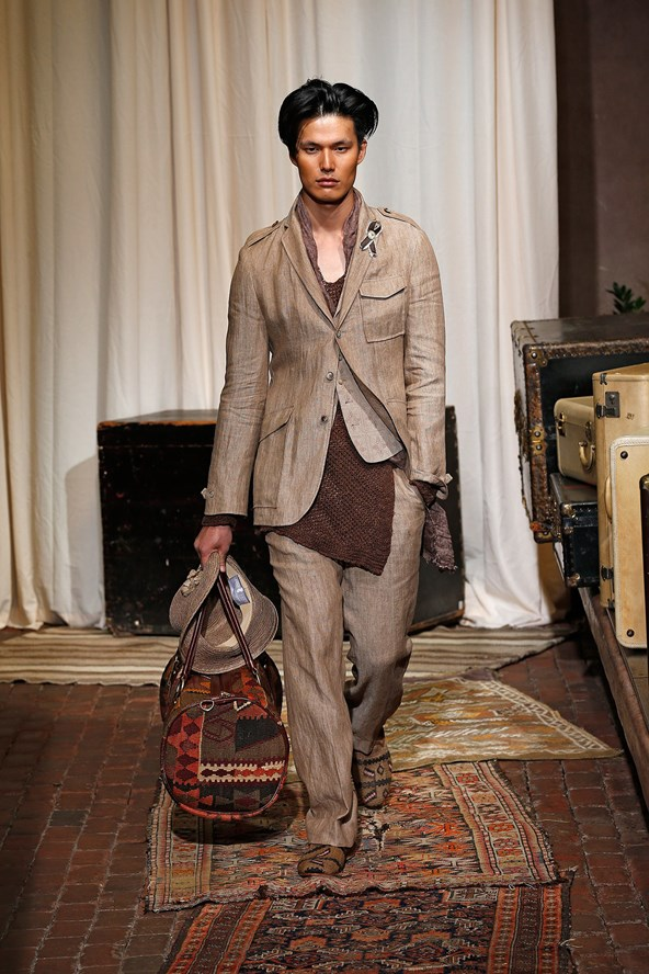 New York Fashion Week: Men's - Joseph Abboud Spring-Summer 2017 collection