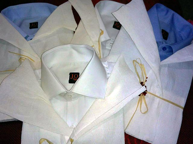 Italian bespoke clothing by Jovanny Capri