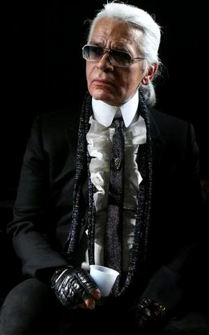 Dandies through the centuries: Karl Lagerfeld