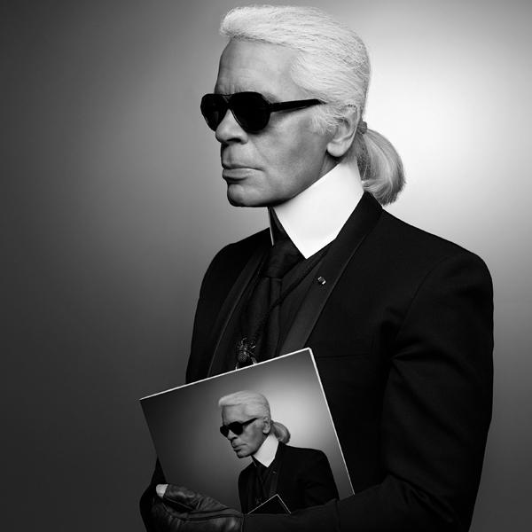 Karl Lagerfeld Visions of Fashion at Pitti Uomo 90