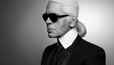 Karl Lagerfeld Visions of Fashion at Pitti Uomo 90