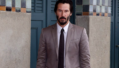 Keanu Reeves is the winner in Most Stylish Men January 2016 - Category Cinema
