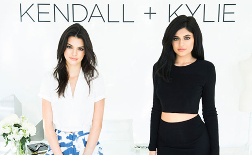 Kendall and Kylie Jenner presented their own collection