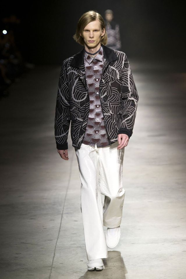 Japanese-inspired menswear for Fall-Winter 2016/2017 by Kenzo