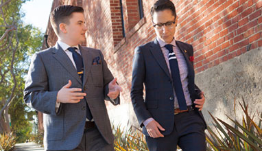 Bespoke suits from Kipper Clothiers