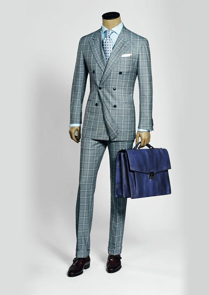 Summer 2016 men's suits and sportswear collection by Kiton