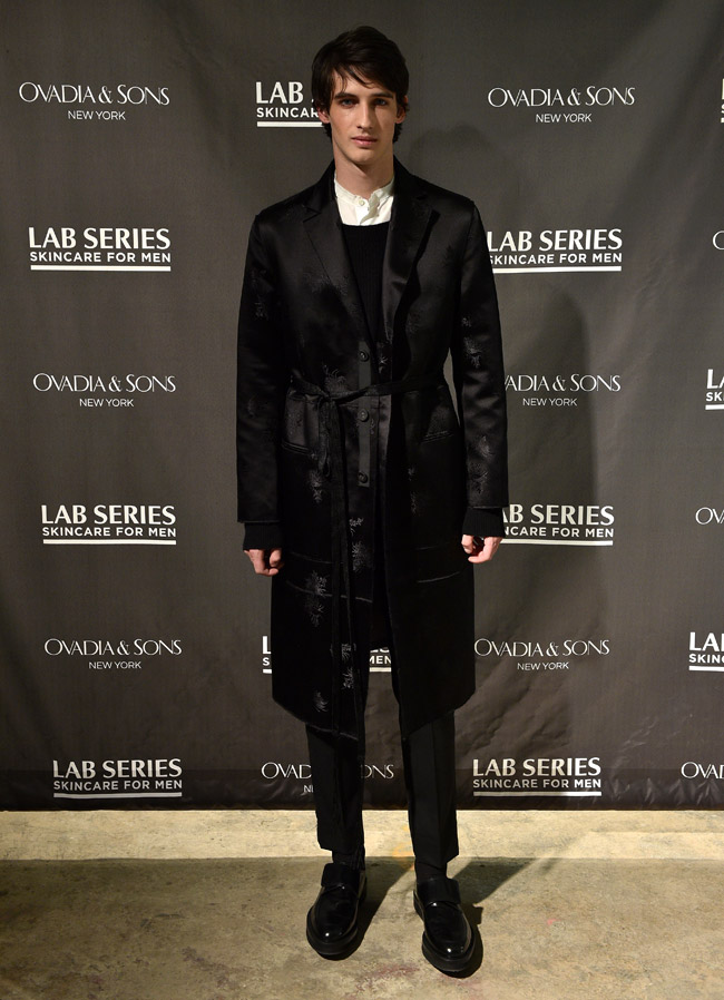 Menswear and skincare during the New York Fashion Week: Men's Fall-Winter 2016/2017