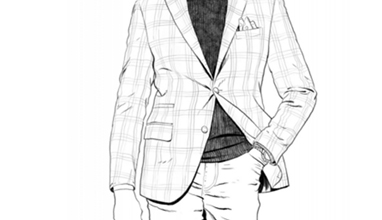 How to wear a suit by Luciano Barbera - The Jacket