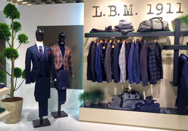 High-end menswear by L.B.M. 1911