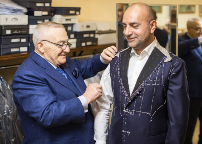 Made-to-measure suits by Sartoria Latorre