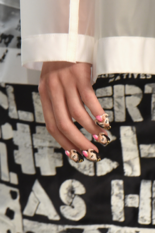 Libertine presented the manicure trends for Spring/Summer 2017