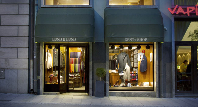 Swedish made-to-measure suits by Lund and Lund