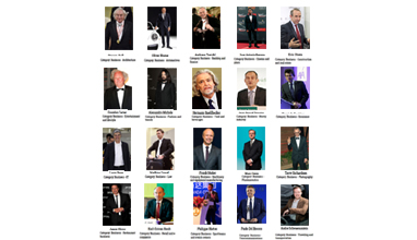 BGFN Readers' Most Stylish Men February 2016 in Business category are announced