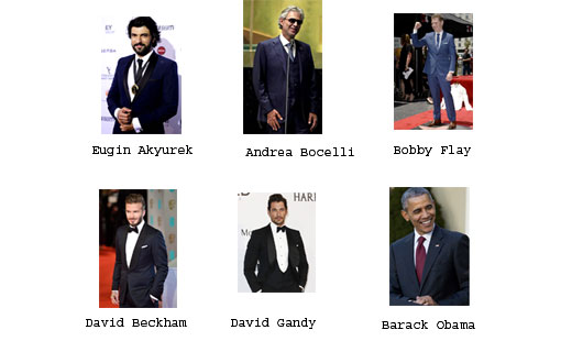 BGFN Readers' Most Stylish Men October 2016 are announced