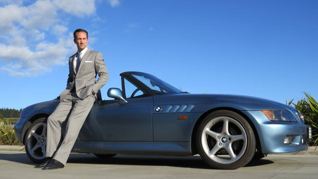 Bespoke suits by Magnoli Clothiers from New Zealand