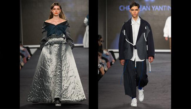 Fashion Show of Istituto Marangoni The London School of Fashion
