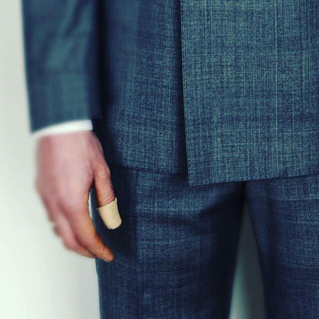 Made-to-measure suits by Marc Wallace