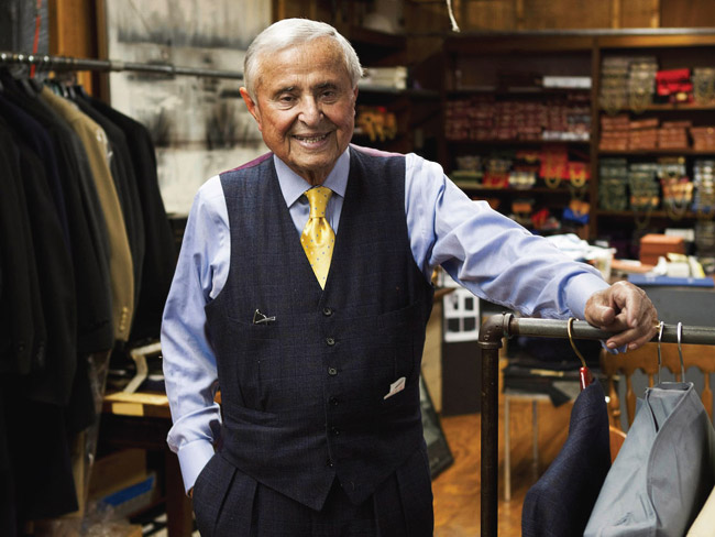Heritage by Martin Greenfield - quality bespoke suits in New York