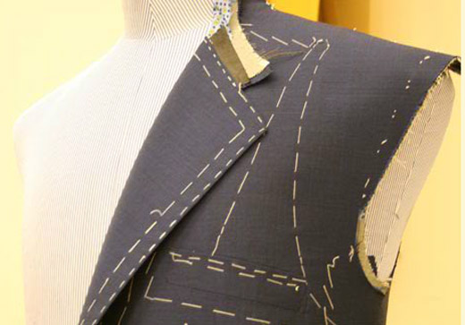 Suit tailoring by Maurice Sedwell