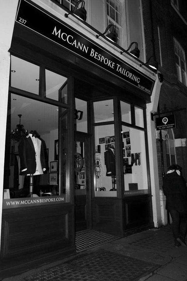 Bespoke suits by McCann Bespoke London