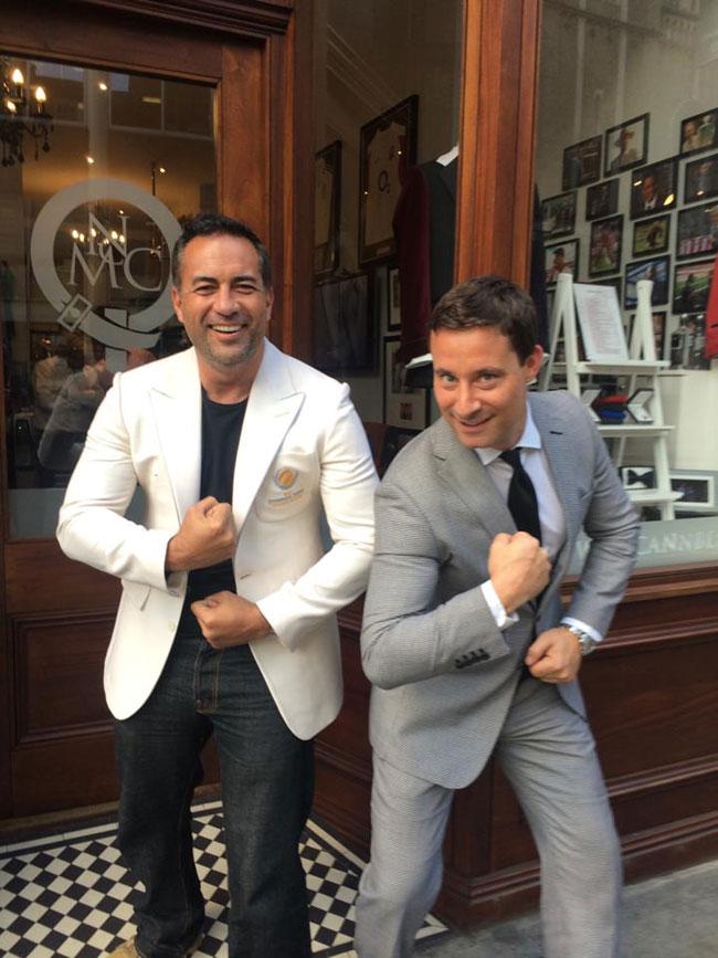 Bespoke suits by McCann Bespoke London