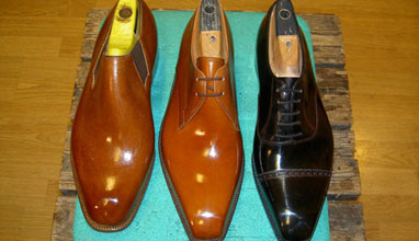 Swedish bespoke footwear by Melker Shoes