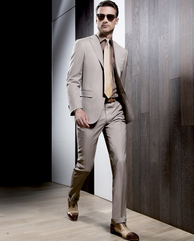 Men 39 S Suits Fashion Trends Brown Suits