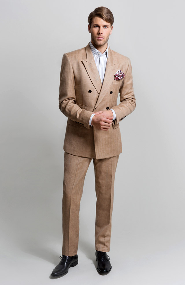 Men's suits 2016 fashion trends: Brown suits