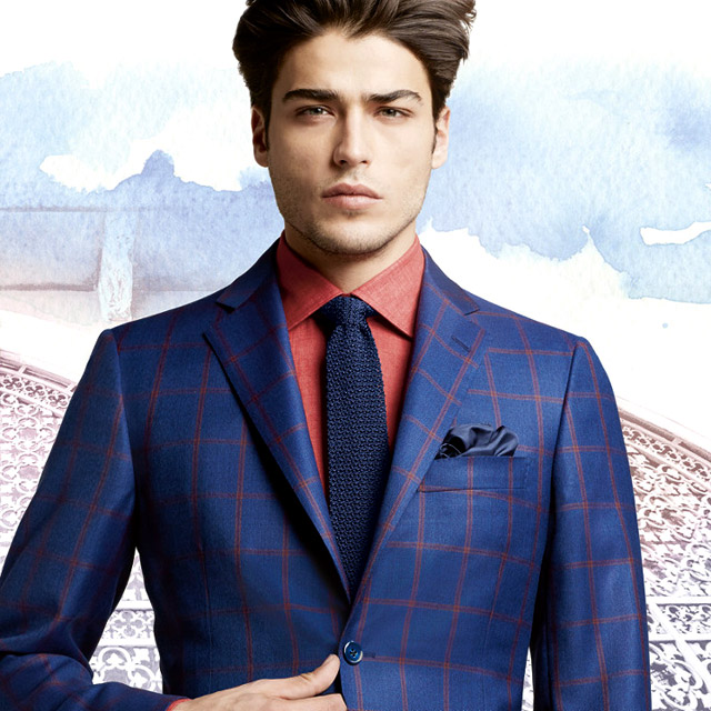 Men 39 S Suits 2016 Fashion Trends Blue Suits