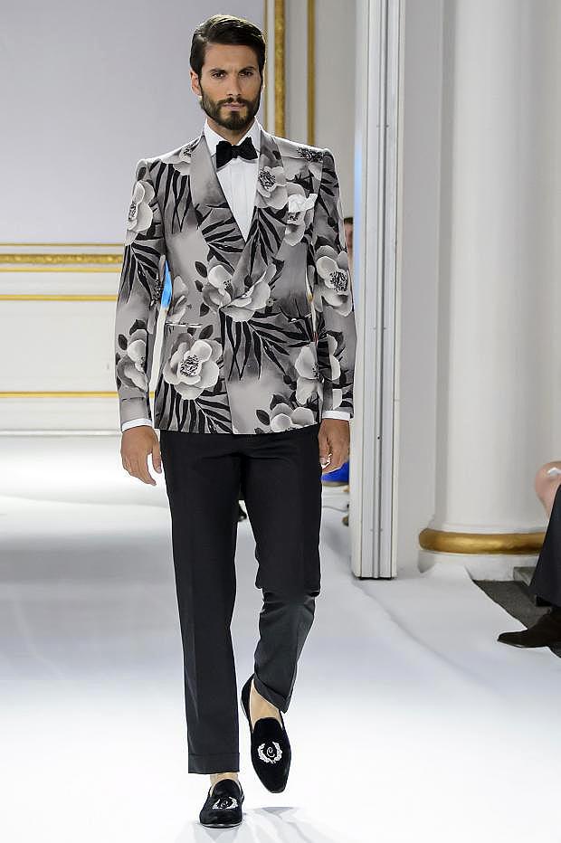 Men's suits 2016 fashion trends: Floral motifs