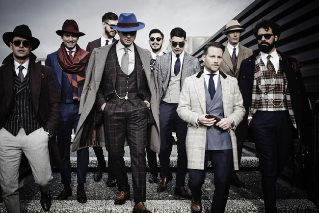Sales in the men's wear industry will stay strong