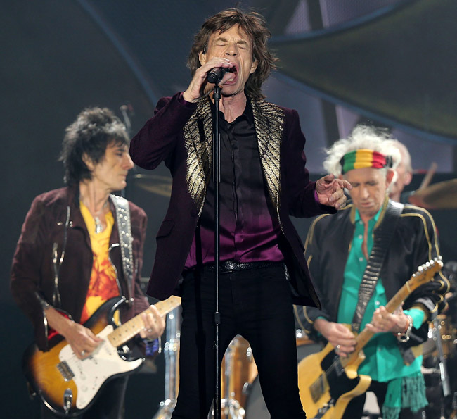 Mick Jagger at 72 - expecting eighth child and most stylish than ever