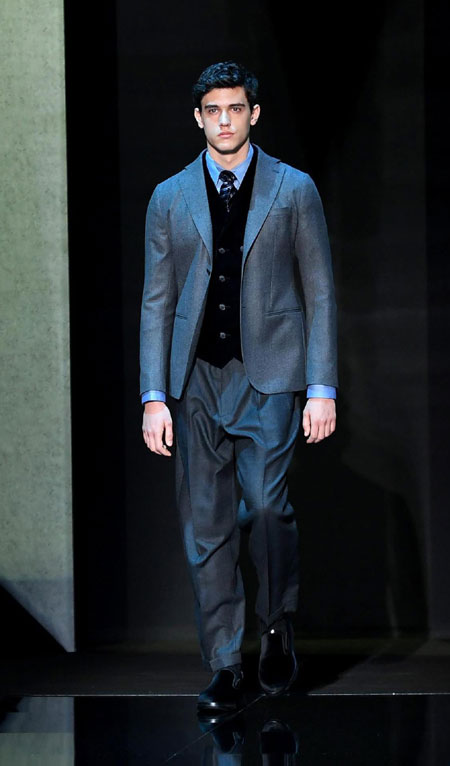 Best suits designs from Milan Men's Fashion Week