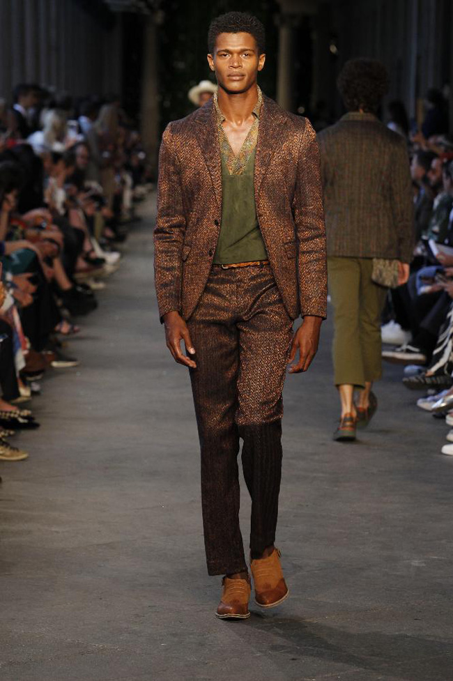 Missoni Spring/Summer 2017 - the Bohemian suit