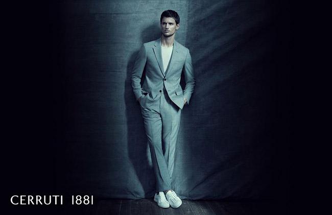 American male model Garrett Neff