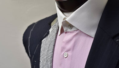Bespoke suits by Mohan's Custom Tailors from New York