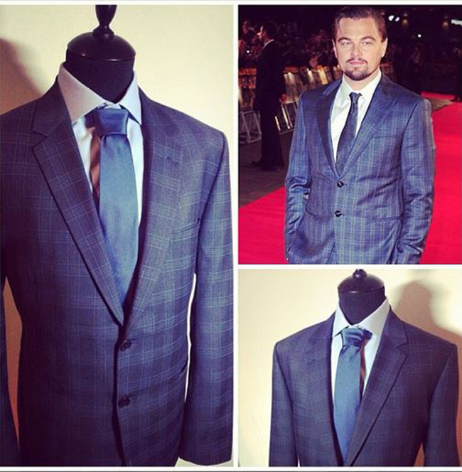 Made to measure tailored suits by Mr. Robertson
